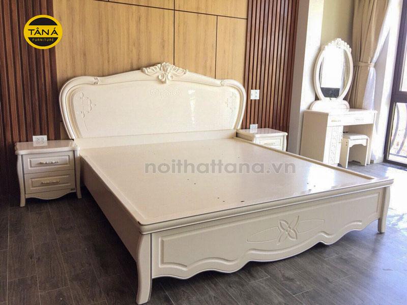 Giường ngủ gỗ công nghiệp MDF chống ẩm nhập khẩu đài loan